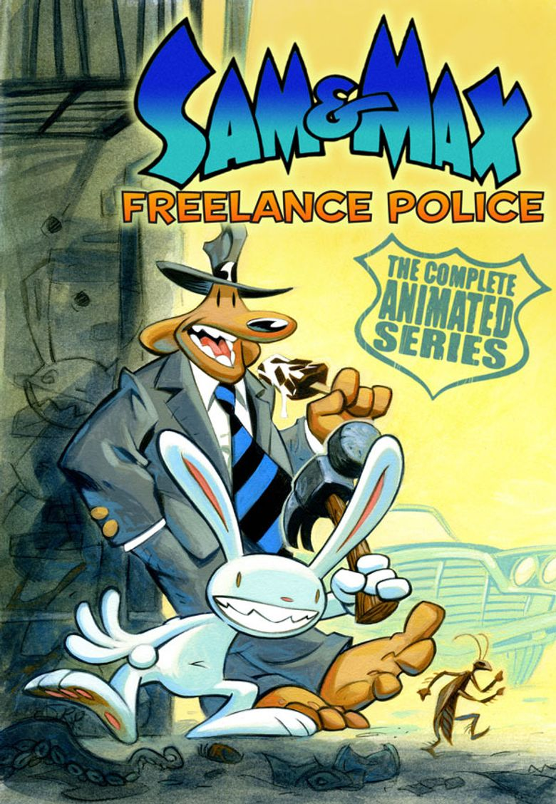 The Adventures of Sam & Max: Freelance Police Poster
