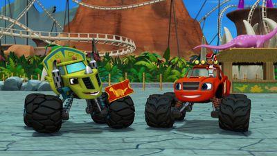Season 03, Episode 01 Dinocoaster