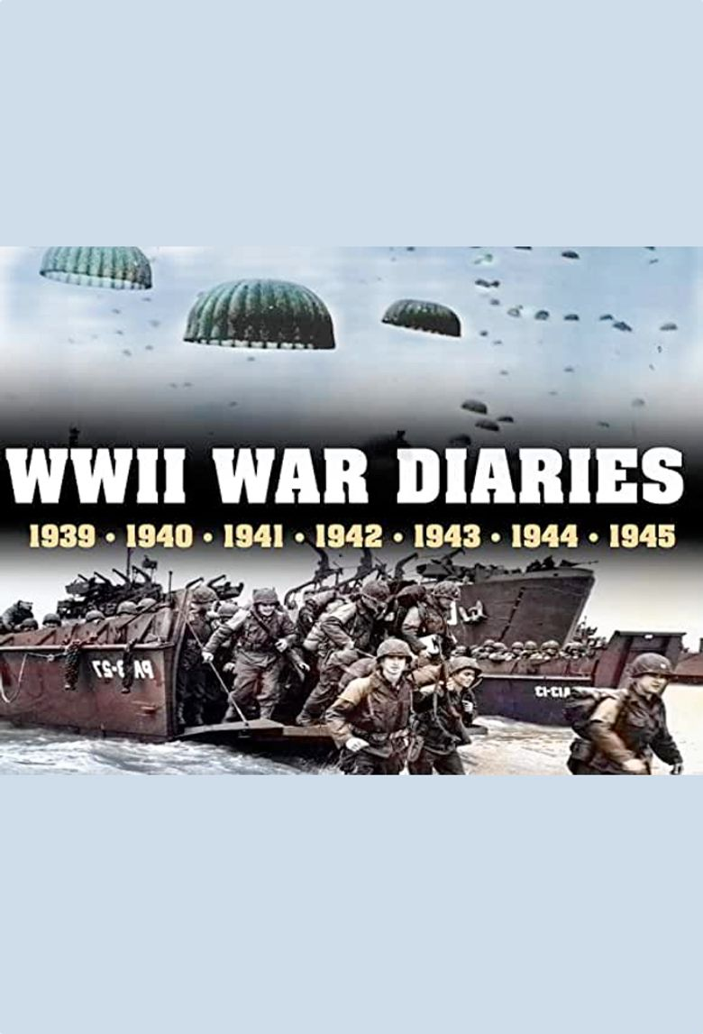 WWII War Diaries Poster