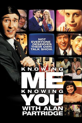 Knowing Me Knowing You with Alan Partridge Poster