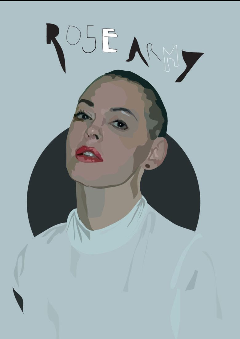 Citizen Rose Poster