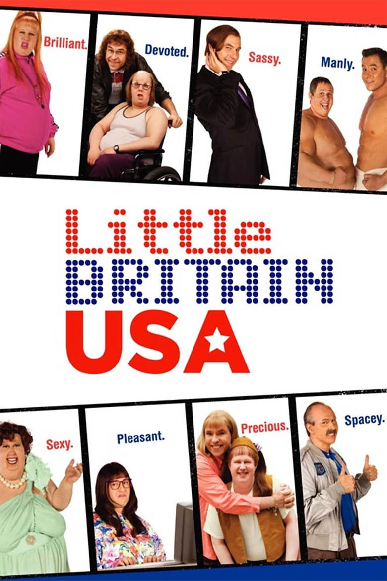 Little Britain USA Poster