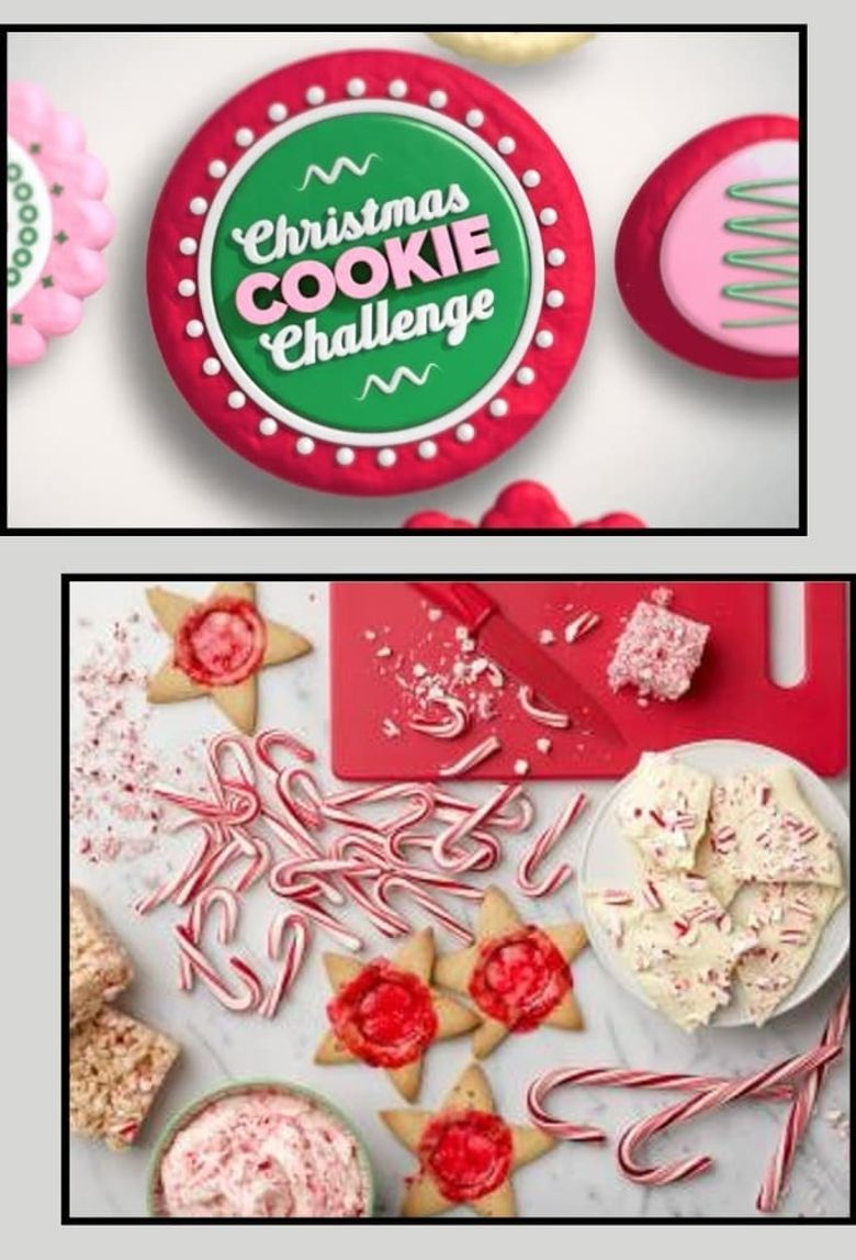 Christmas Cookie Challenge Poster