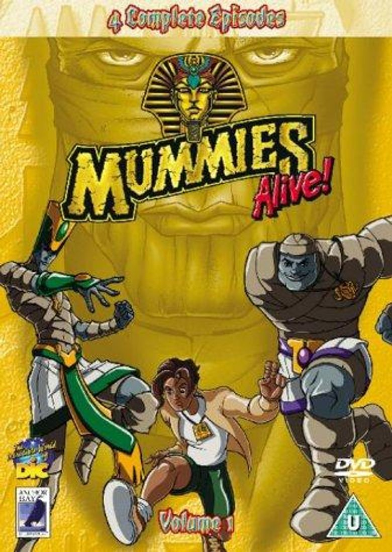 Mummies Alive! Poster