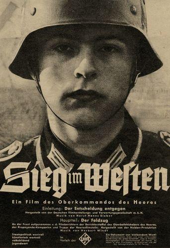 Sieg Im Westen Poster
