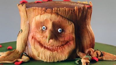 Season 101, Episode 04 Chocolate Yule Log Tree Stump