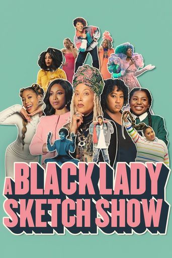 A Black Lady Sketch Show Poster