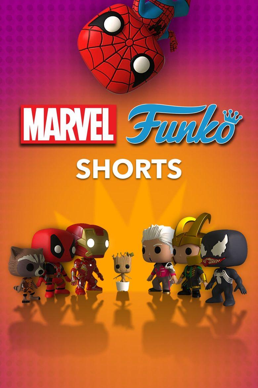 Marvel Funko Shorts Poster