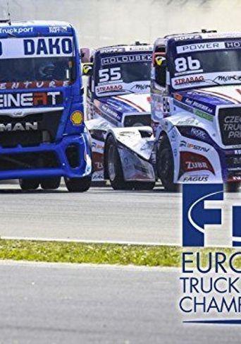 FIA EUROPEAN TRUCK RACING Poster