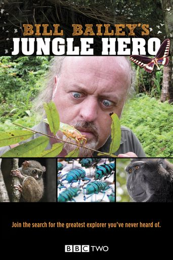 Bill Bailey's Jungle Hero Poster