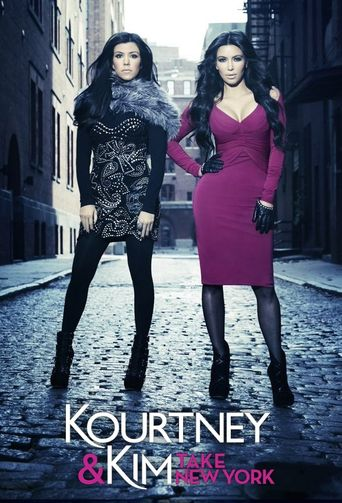 Kourtney and Kim Take New York Poster