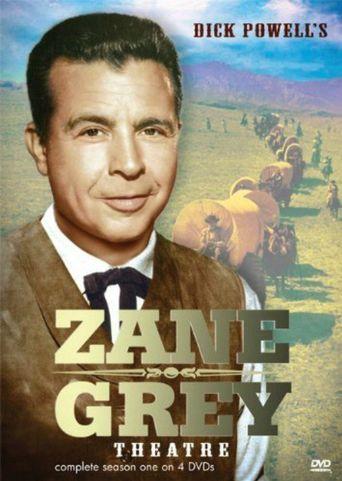 Dick Powell's Zane Grey Theater Poster