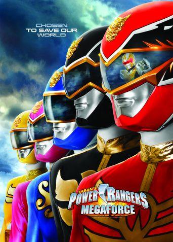 Power Rangers Megaforce Poster
