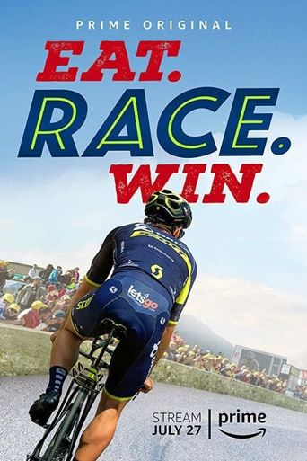Eat. Race. Win. Poster