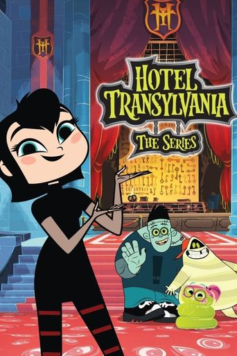 Hotel Transylvania: The Series Poster