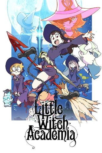 Little Witch Academia (TV) Poster