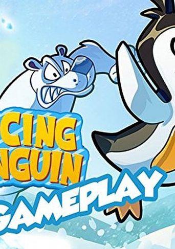 Racing Penguin Gameplay Poster