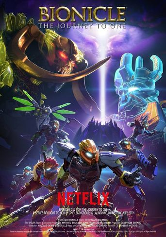 Lego Bionicle: The Journey to One Poster