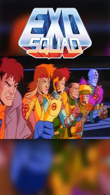Exosquad Poster
