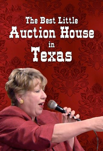 The Best Little Auction House In Texas Poster