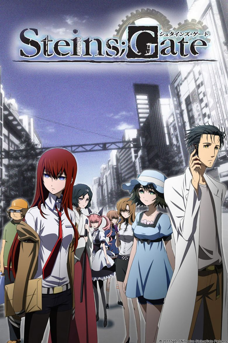 steins gate 2011 where to watch every episode reelgood
