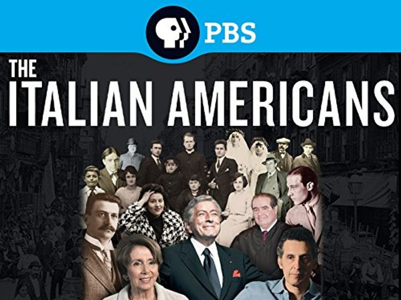 The Italian Americans Poster