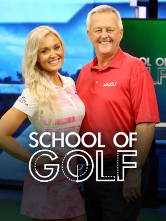 School of Golf Poster