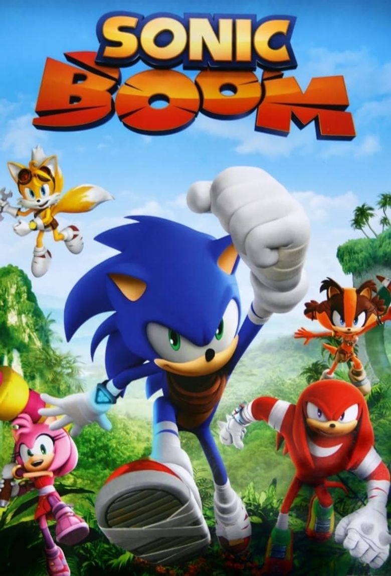 Sonic Boom Poster
