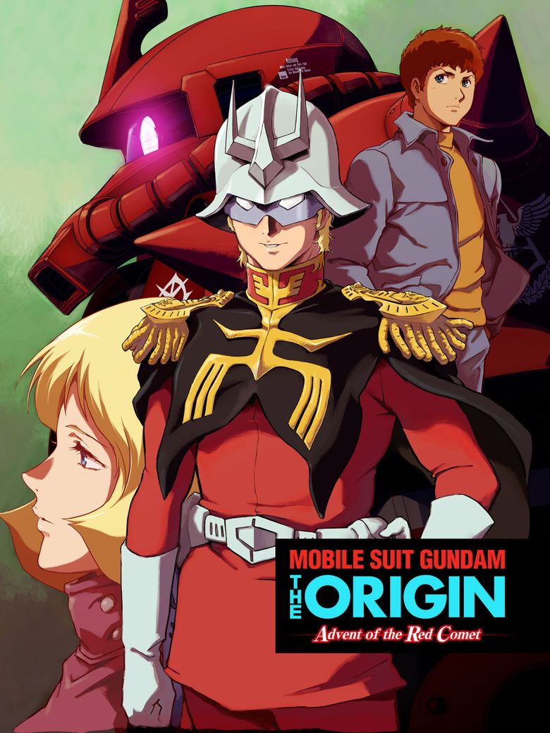 Mobile Suit Gundam: The Origin - Advent of the Red Comet Poster
