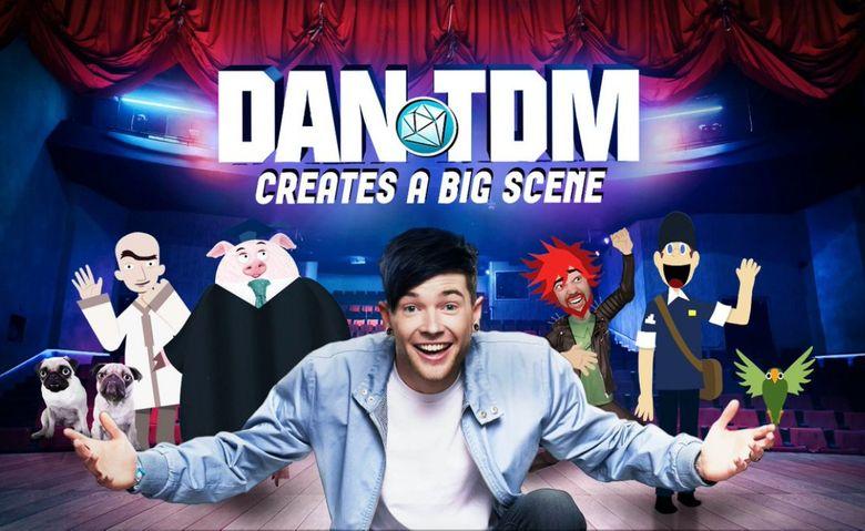 DanTDM Creates a Big Scene Poster