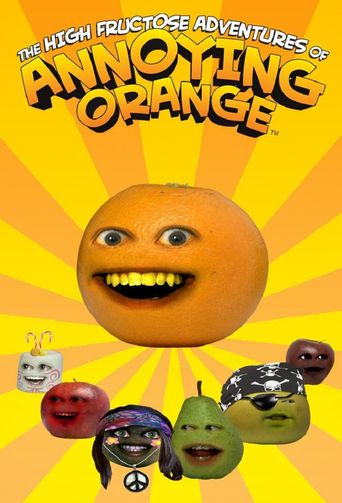 The Annoying Orange Poster