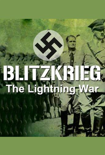 Blitzkrieg: The Lightning War Poster