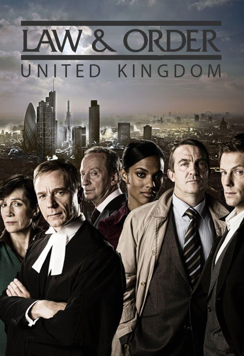 Law & Order: UK Poster