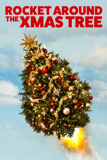 Rocket around the xmas tree Poster