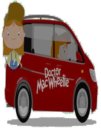 Doctor MacWheelie Poster