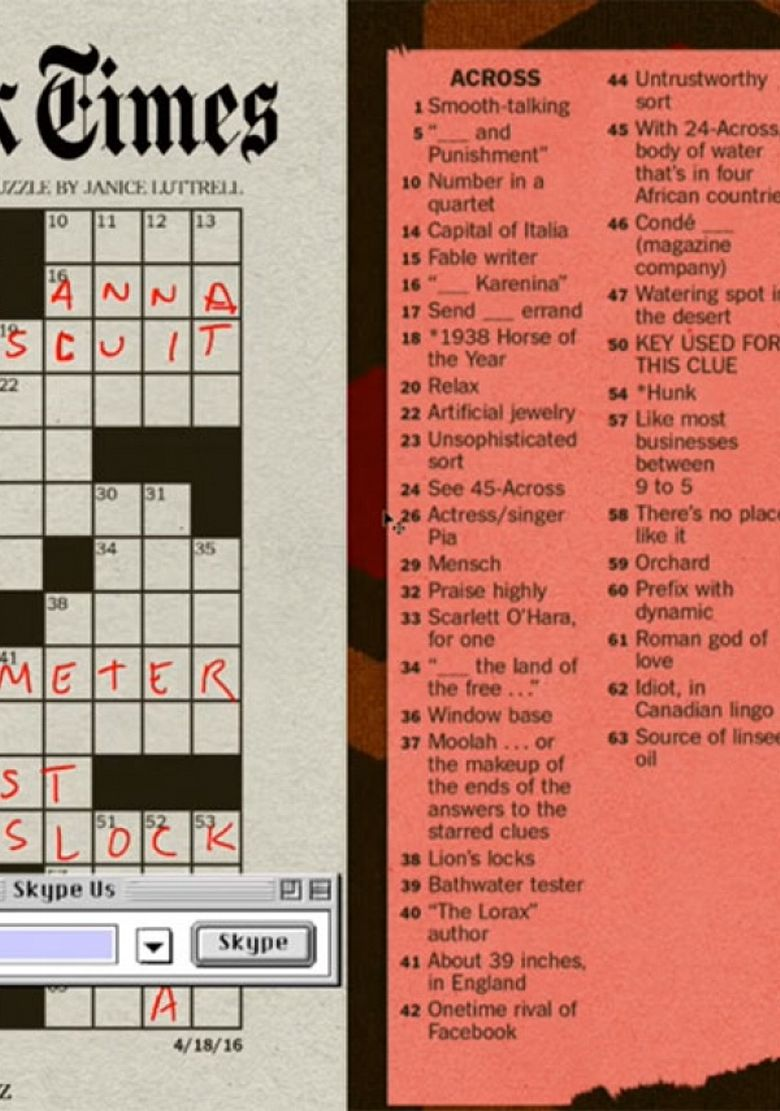Watch Crossword