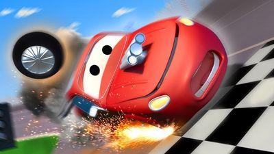 Season 01, Episode 01 Crash Bang Wallop / Dragster Car / Race Car / Emergency Breaking