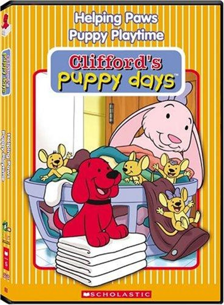 Clifford's Puppy Days Poster