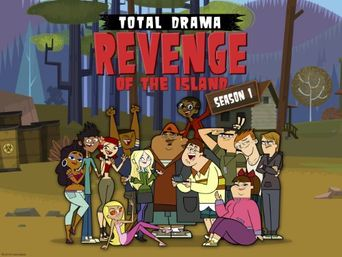Total Drama: Revenge of the Island Poster