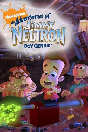 The Adventures of Jimmy Neutron: Boy Genius Poster