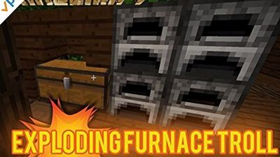 Season 03, Episode 05 Easy Exploding Furnace Troll in Minecraft!