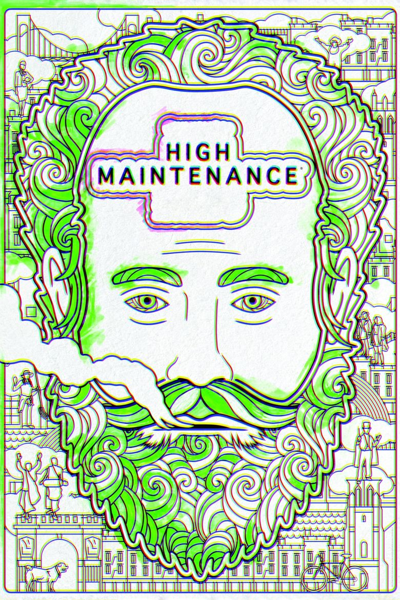 High Maintenance Poster