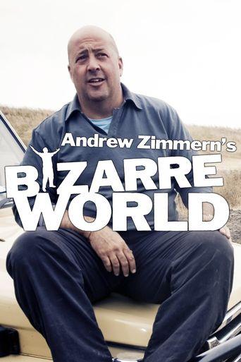 Andrew Zimmern's Bizarre World Poster