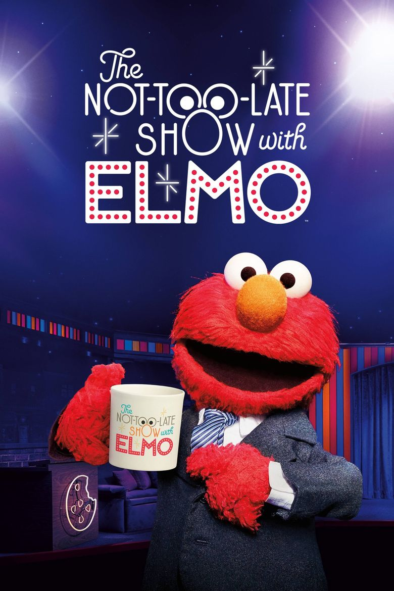 The Not-Too-Late Show with Elmo Poster