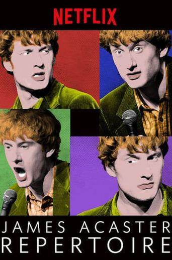 James Acaster: Repertoire Poster