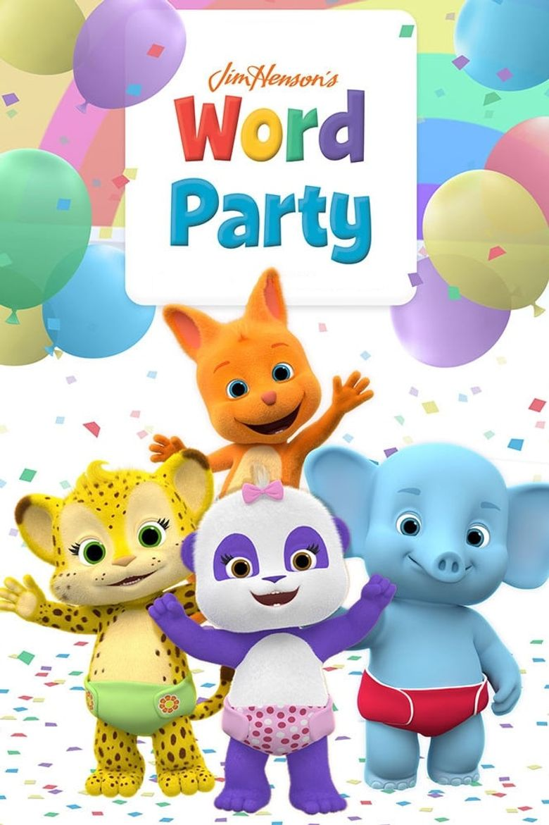 Jim Henson's Word Party Poster