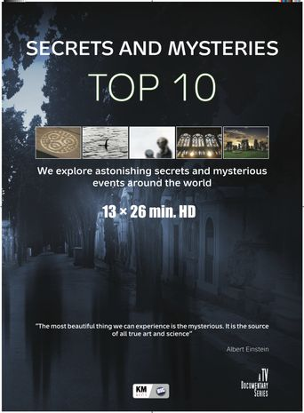 Top 10 Secrets and Mysteries Poster