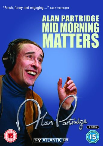 Mid Morning Matters with Alan Partridge Poster