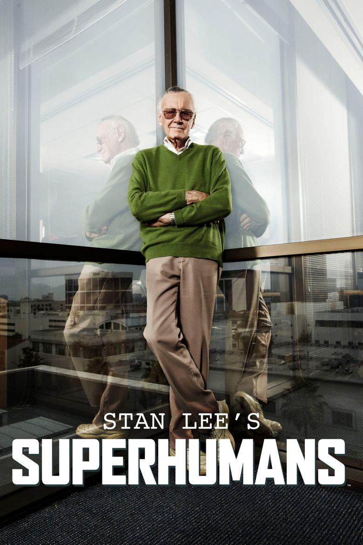 Stan Lee's Superhumans Poster