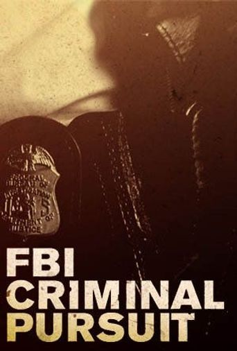 FBI: Criminal Pursuit Poster